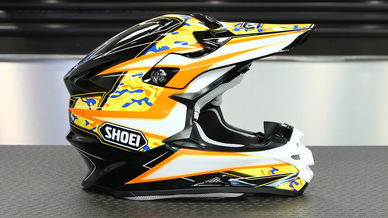 shoei vfx w turmoil helmet motorcycle superstore youtube. Black Bedroom Furniture Sets. Home Design Ideas