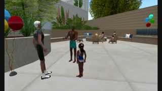 Club One Island Weight Loss Program in a virtual world