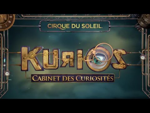 KURIOS - Cabinet of Curiosities from Cirque du Soleil - Official Glimpse
