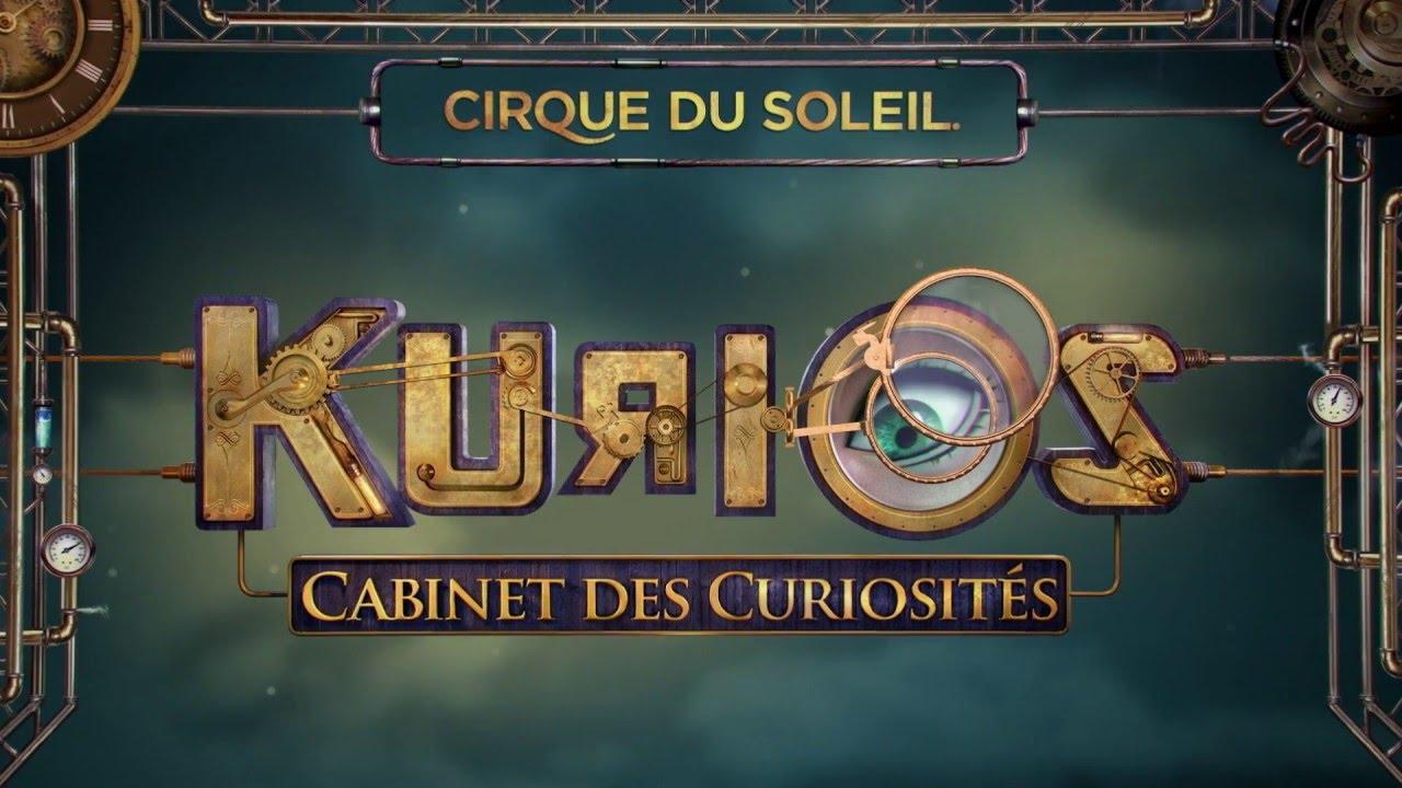 KURIOS - Cabinet of Curiosities from Cirque du Soleil - Official ...