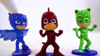Disney Junior PJ Masks Color Mix-Up Game For Kids Children Toddlers