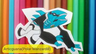 BEN10 alien drawing collection  DRAW EASY