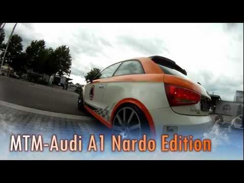 """MTM Audi A1 500 HP """"The beast"""" 324 km/h Top Speed beats Porsche 911 and BMW M3 Onboard"""