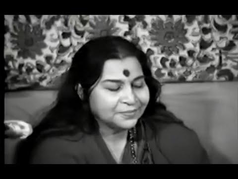 1982-0505 Shri Mataji Teaches Yogis To Sing Bhajans, Le Raincy ashram, France