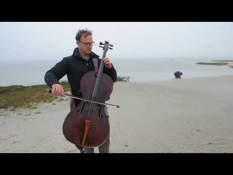 Ben Sollee at the Forstyhe National Wildlife Refuge in Atlantic County.