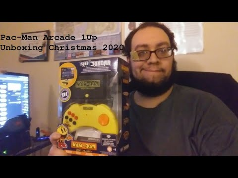 Pac Man Arcade  1Up Unboxing Christmas 2020 from Steven Saucedo Old School Film & Gaming Reviews