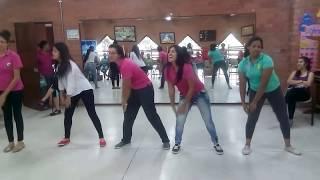 Coreografía la patita Lulu - Tatiana - Ensayo