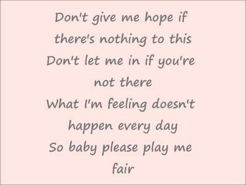 Freddie stroma Possibilities Lyrics