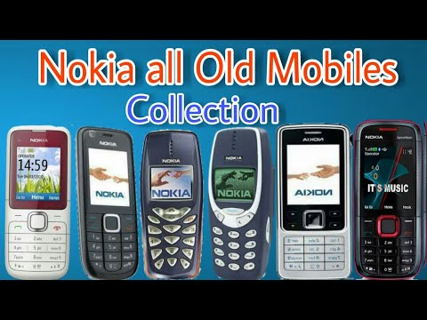 Nokia Old mobile collection |All classic phone review|
