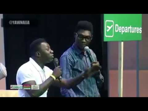 Download Funke Akindele & A.Y Comedian Was Insulted live on stage.