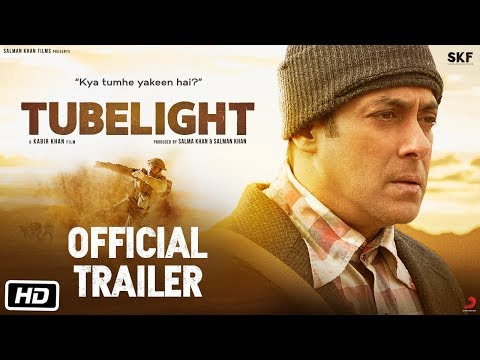 Thumbnail: Tubelight | Official Trailer | Salman Khan | Sohail Khan | Kabir Khan