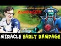 Miracle Super Fast RAMPAGE — Storm Spirit Vs TOP-5 Rank Mid