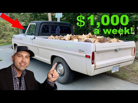 How to make $1,000 a week with a Pickup Truck!
