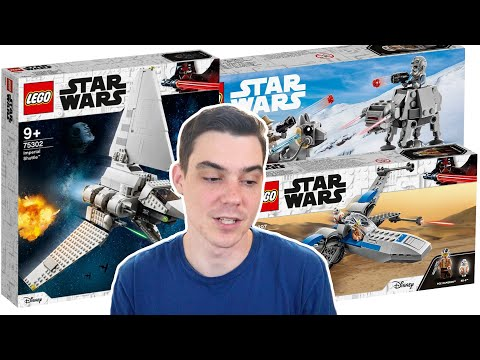 LEGO Star Wars MARCH 2021 Set Pictures!