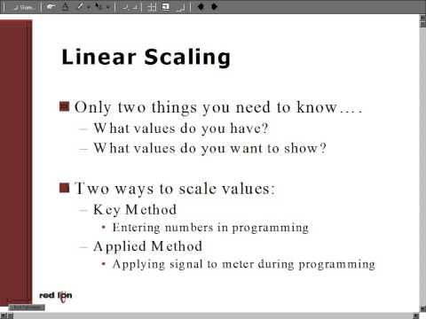 Analog Linear Scaling