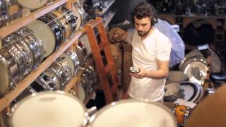 Night At The Drum Shop (Making of)