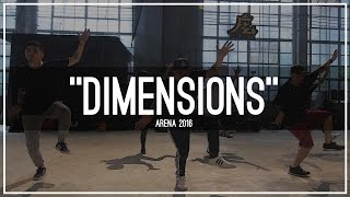 "TroyBoi ""Dimensions"" Choreography by Tony Tran & Charles Nguyen 