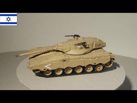 Merkava - Israelische Armee - 1:72 Modell