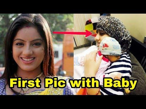 Deepika Singh aka Sandhya of Diya aur baati hum shares first photo with her baby boyDont miss ❤️