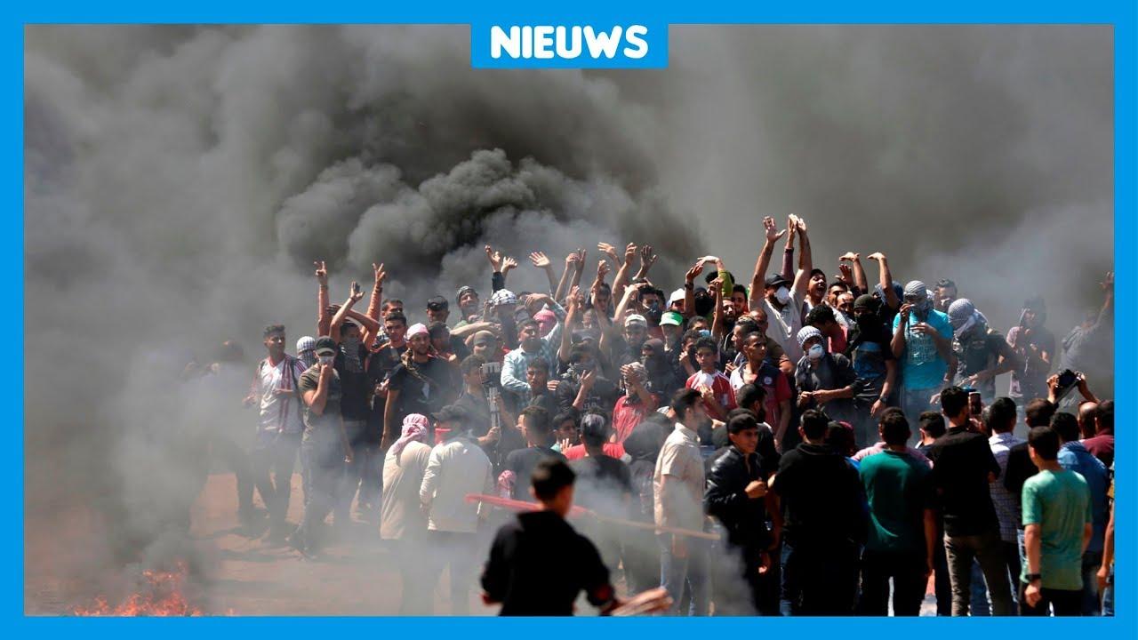 Download Doden en gewonden bij groot Palestijns protest
