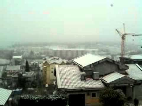 Snow in Podgorica