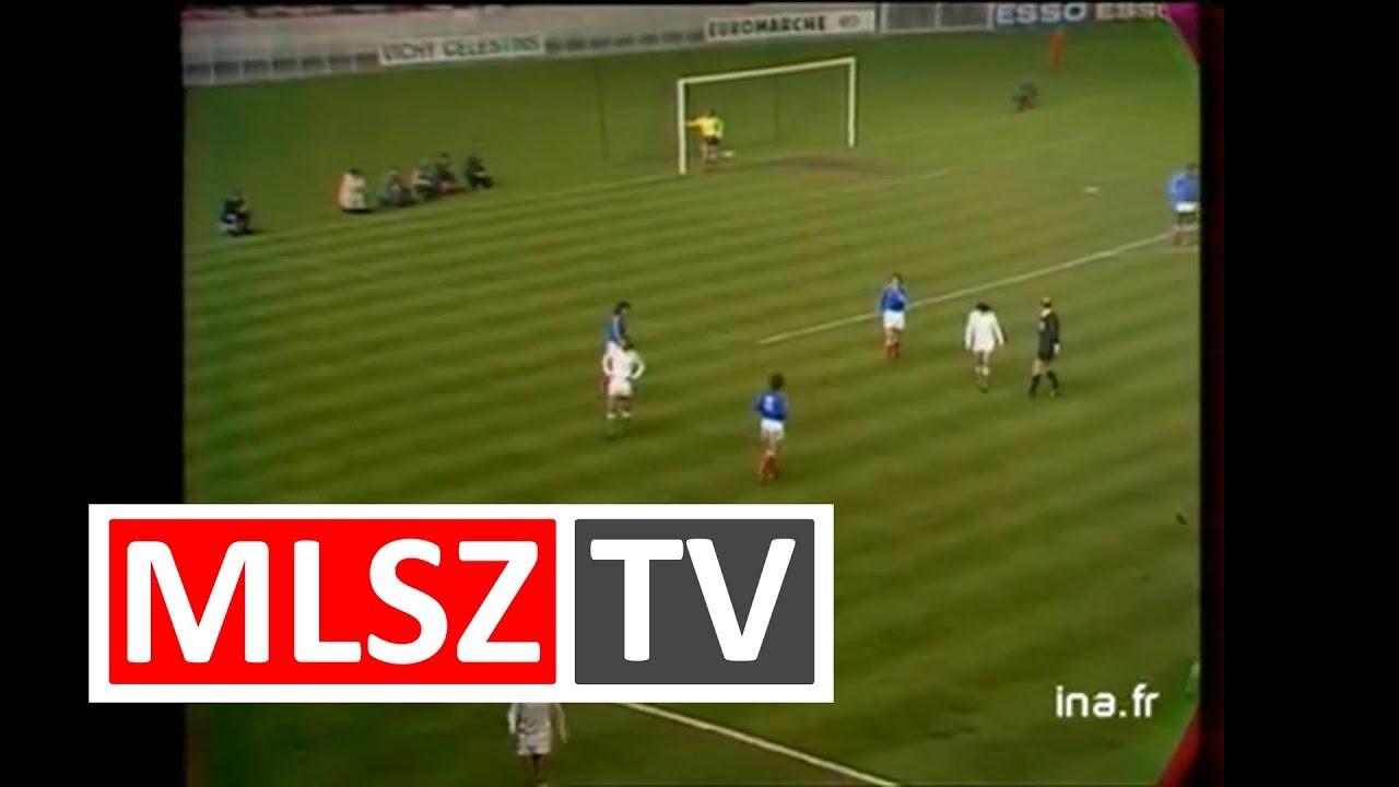 Franciaország - Magyarország | 2-0 | 1975. 03. 26 | MLSZ TV Archív