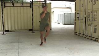 Marines Force Fitness-Lateral Skip