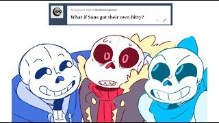 What if Sans got their own Bitty?【Undertale Animation】Undertale Comic dubs