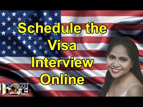 HOW TO SCHEDULE THE VISA INTERVIEW ONLINE! (Tutorial) | US EMBASSY | K1 VISA