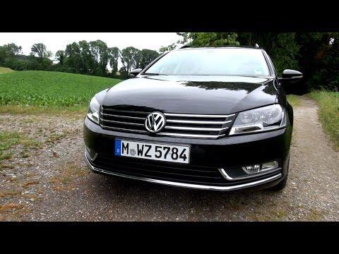 2014 VW Passat 2.0 TDI 140 HP Test Drive, Acceleration, Top Speed