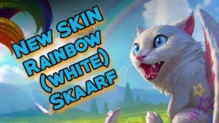 NEW skin Rainbow Skaarf (white) | NEW hero Kinetic | PBE Vainglory 3.4
