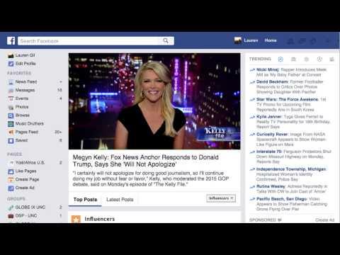 Facebook Trending Topics: Filtering Tool