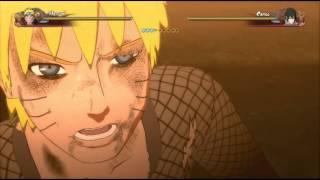 NSUNS4 LAST MOVIE Последняя заставка  | Naruto Vs Sasuke ( 3 часть из 6 )