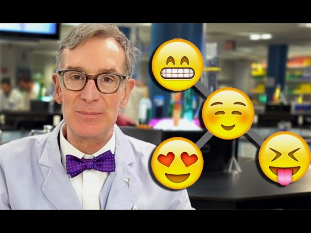 Bill Nye Explains Evolution with Emoji - YouTube