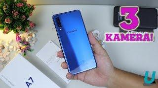 Download Video 5 MENIT Unboxing Samsung Galaxy A7 2018 Warna BIRU Hasil Pre-Order MP3 3GP MP4