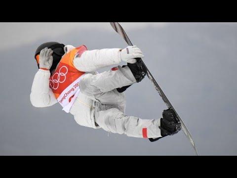 JO-2018/Snowboard halfpipe: Shaun White champion olympique