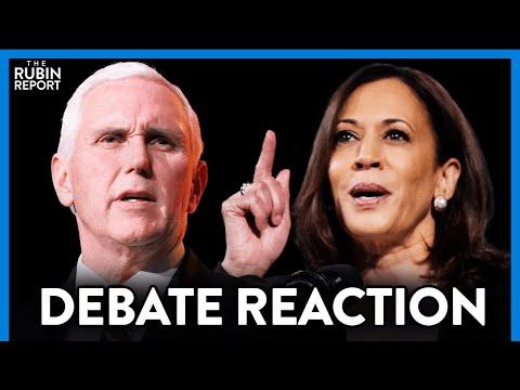 Pence & Harris VP Debate: Highlights, Lowlights & Reaction   DIRECT MESSAGE   RUBIN REPORT