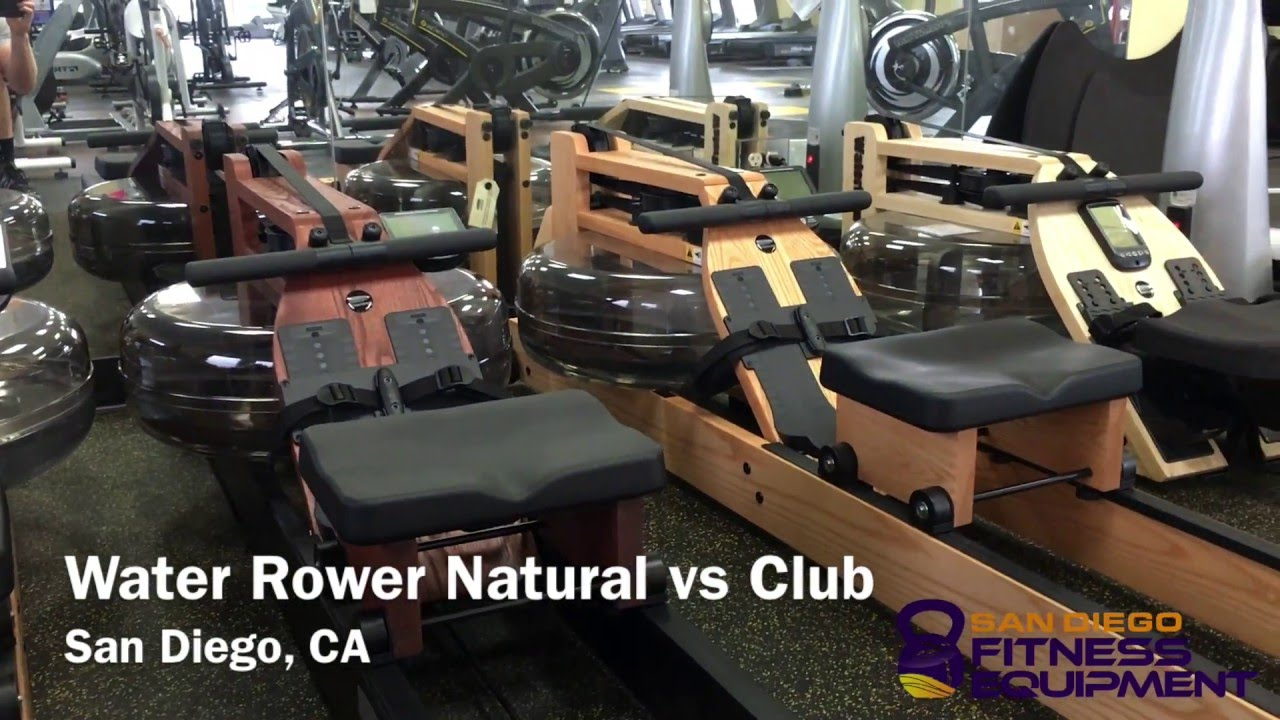 WaterRower Natural vs Club - Fitness Direct