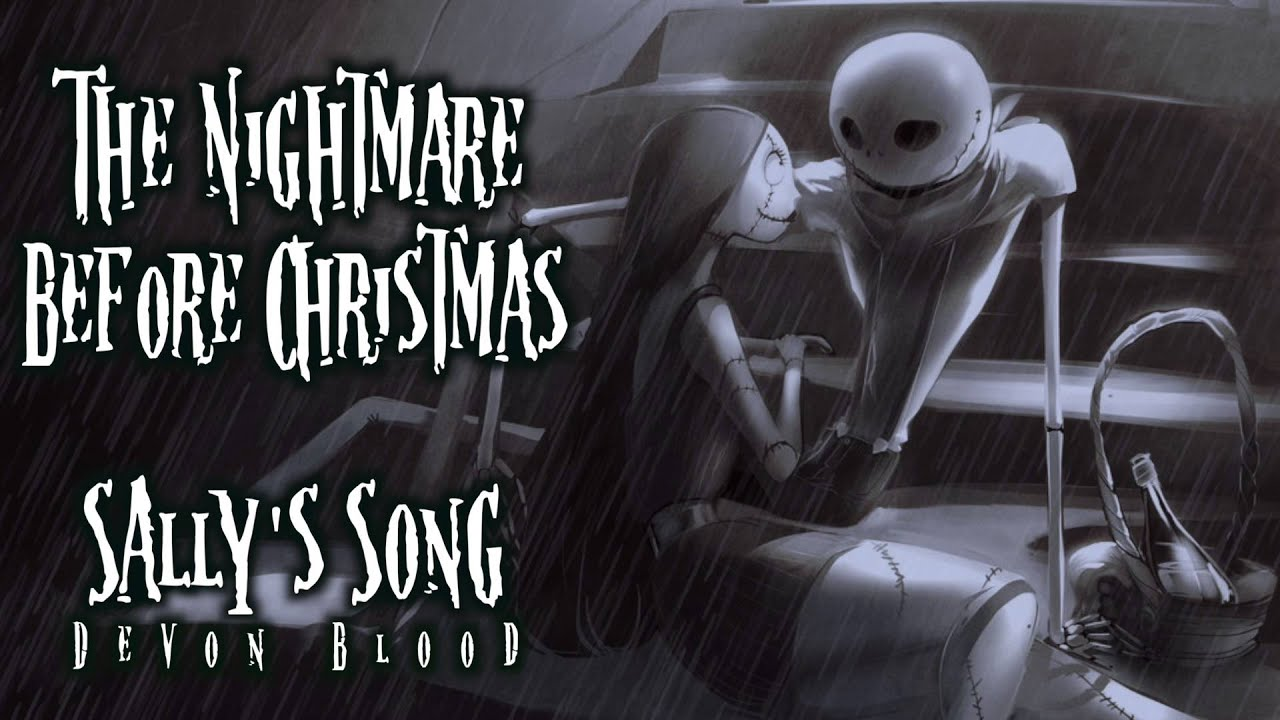 The Nightmare Before Christmas - Sally's Song | Piano & Vocal ...