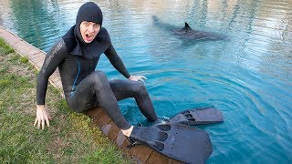 SCUBA DIVING IN POND FOR TREASURE!! (I FOUND IT!) thumbnail
