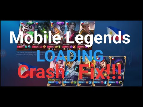 Mobile Legends Crash Fix!!!