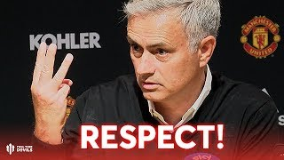 Respect! Respect! Respect! Mourinho's Press Conference Manchester United 0-3 Tottenham Hotspur