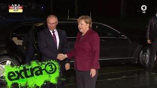 Neulich im Bundestag: Merkels Tagebuch – Besuch von Putin