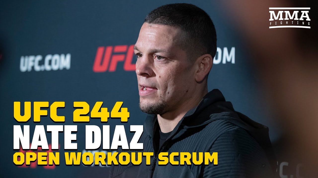 UFC 244: Nate Diaz Won't Fight Anymore 'Suckers' - MMA Fighting