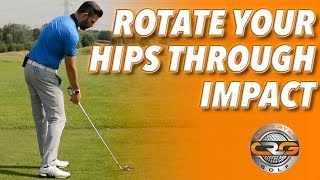 HOW TO ROTATE YOUR HIPS THROUGH IMPACT