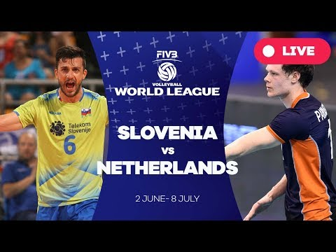 Slovenia v Netherlands - Group 2: 2017 FIVB Volleyball World League