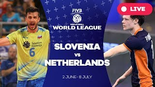 Slovenia v Netherlands - Group 2: 2017 FIVB Volleyball World League
