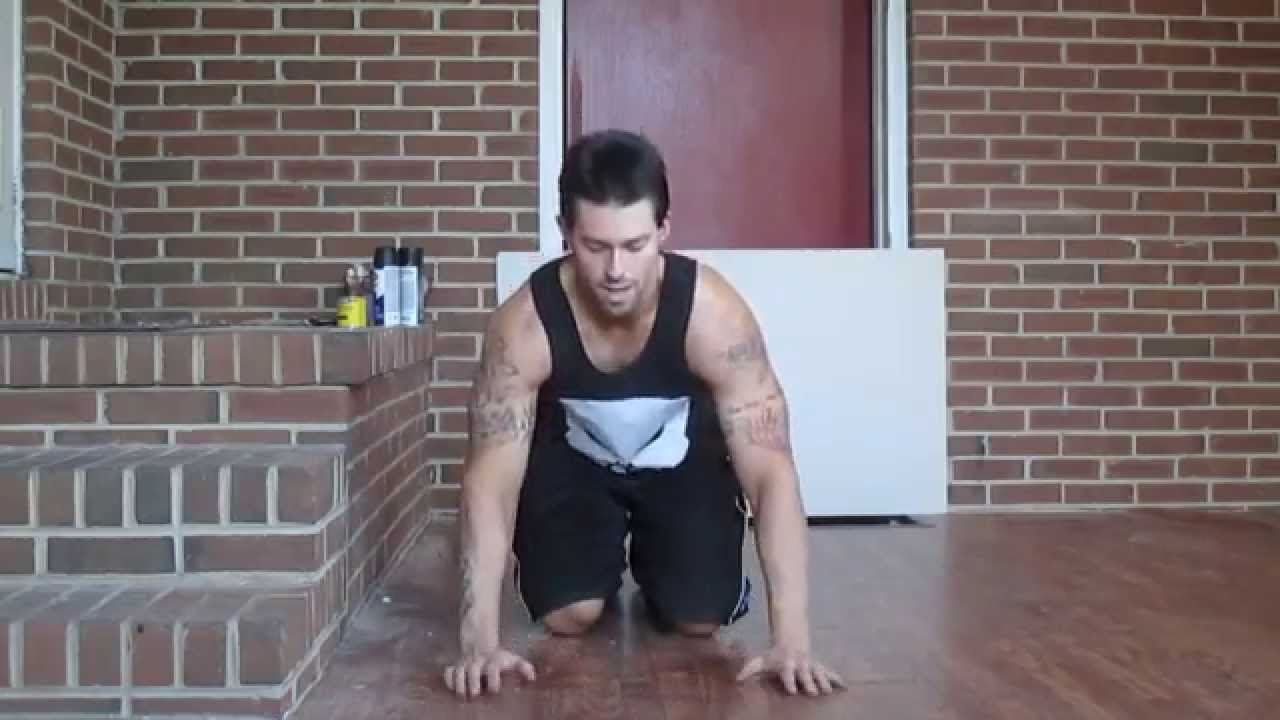 Chest workout without weights at home by routine