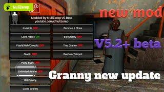 Granny - APK MOD v1.4.0.1 [MOD MENU v5.2beta2]