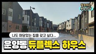 김포시 운양동 듀플렉스하우스 (땅콩주택)